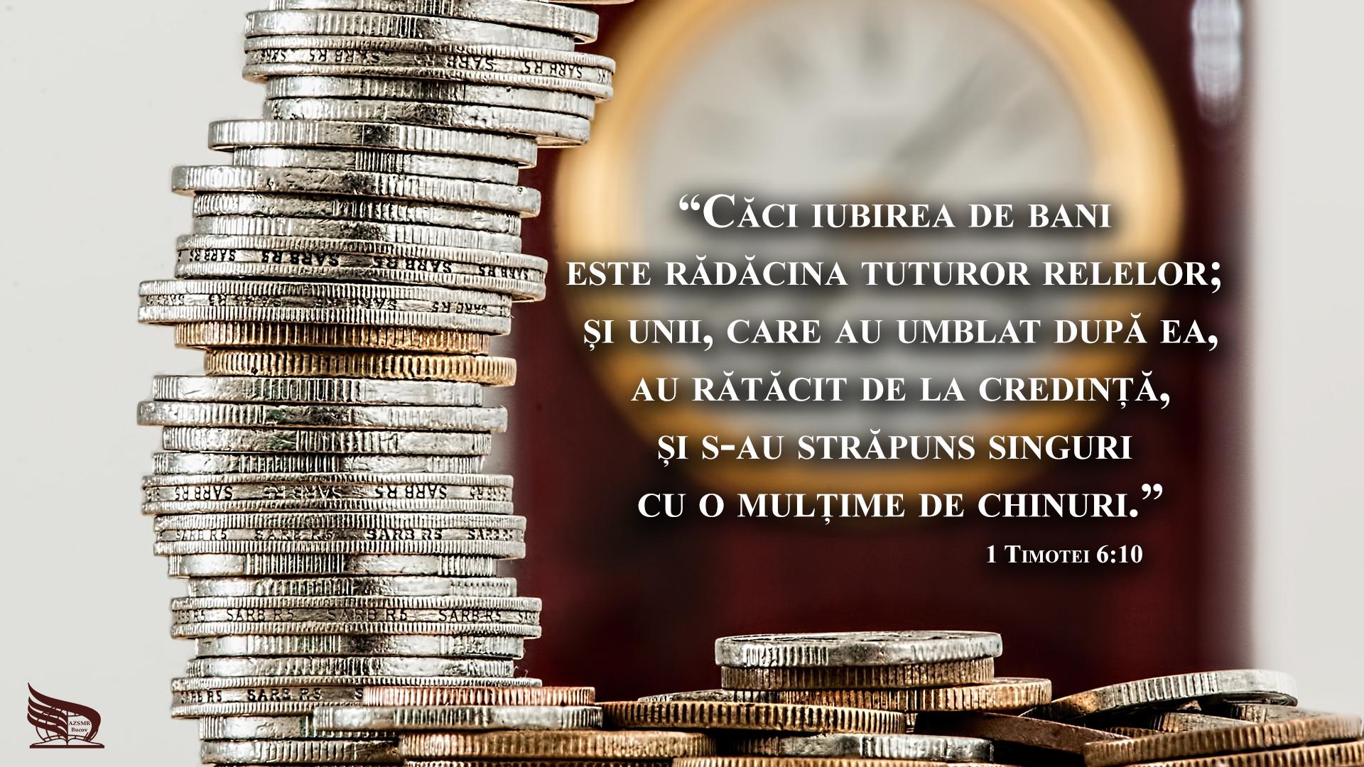1 Timotei 6 10