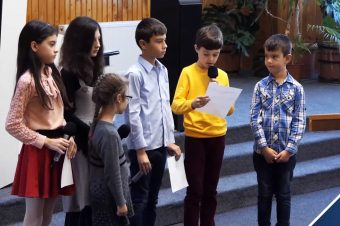 Micul misionar – Grupul de copii Eben-Ezer